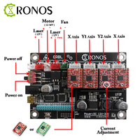 CNC 3018 CNC 3 Axis Stepper Motor Double Y Axis USB Driver Board Controller Laser Board