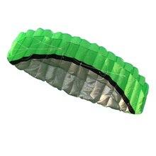 2.5 м Dual Line Трюк Parafoil Кайт Питания Мягкий Кайт 2 х 30 м Линии Намотки Открытый Забавная Игрушка Пляж Воздушных Змеев Открытый спорт