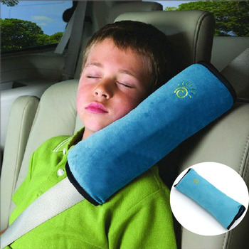 Seat Belt Pillow Kids Baby Seatbelt Pillows Car Safety Travel Head Shoulder Cushion Pad Harness Protection Support Pillow image
