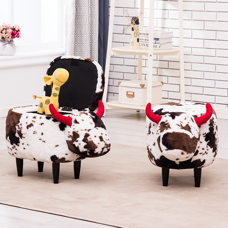 Creative dressing stool for shoes home Nordic children sofa stool makeup stool 17 styles shoe stool solid wood fabric creative children small chair sofa round stool small wooden bench 30 30 27cm 32 32 27cm