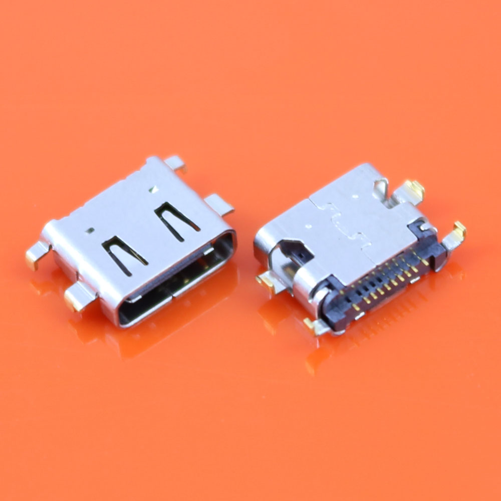 ChengHaoRan 2PCS For sony Xperia XA1 Ultra G3221 Micro USB Type-C jack socket Connector Charging Port replacement repair parts 2pcs original mini micro usb charging port power jack for samsung galaxy s3 i9300 i9305 usb connector micro usb socket 11pin