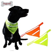 Fluorescent Pet Triangular Bandage Towel Magic Dog Scarf Can Custom Reflective Dog S Saliva Towel