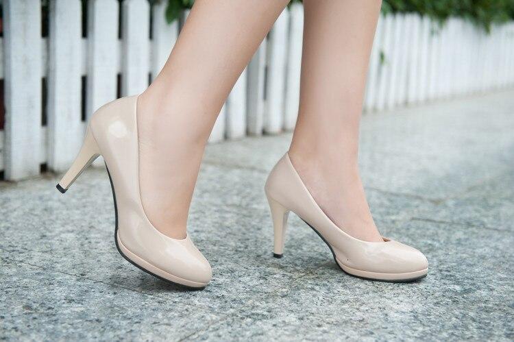 White lace princess Korean Japanese fashion girls high heels nude ...