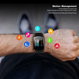 Image 3 - VERYFiTEK Q11 スーパーロングスタンバイスマート腕時計血圧ハートパルスレートモニターフィットネス腕時計女性スマートウォッチ PK Q9