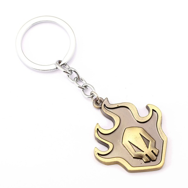 BLEACH Key Chain Fire Key Rings