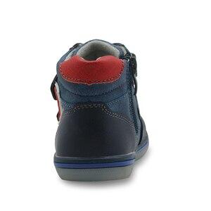 Image 4 - Apakowa/осенне весенние зимние Ботинки Martin для маленьких мальчиков на молнии; Модные детские ботильоны для мальчиков; Детская обувь с поддержкой арки