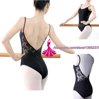 Ballet Leotard For Women Cotton Short Sleeve Lace Ballet Dancing Costume Professional Adult Gymnastics Leotards