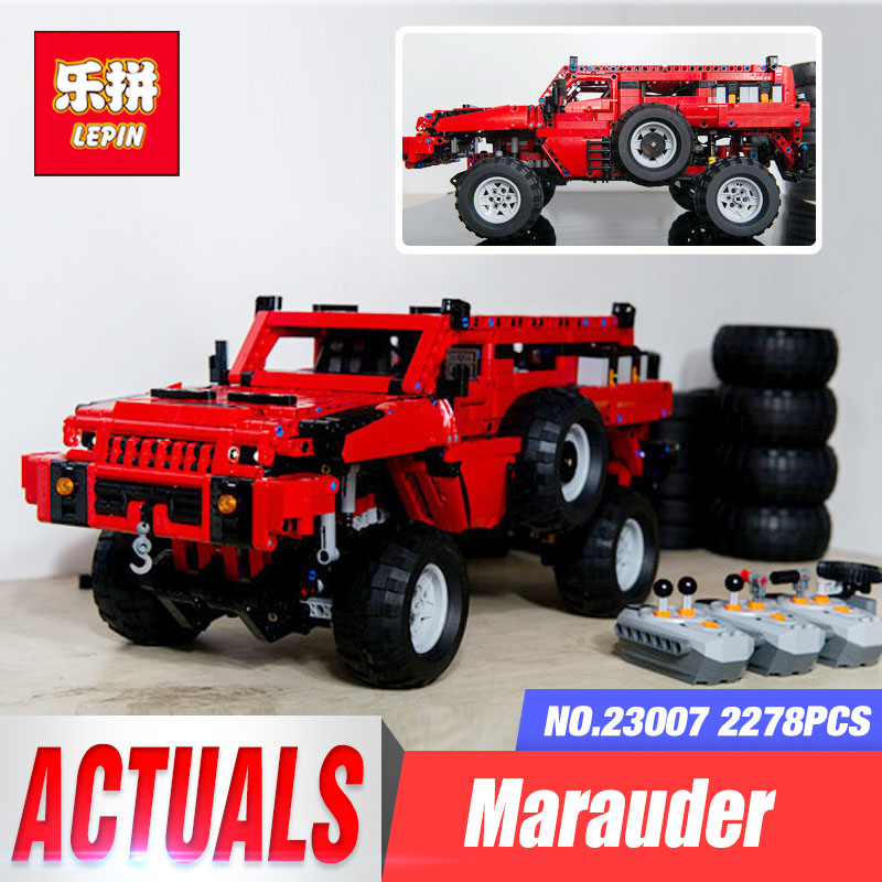Lepin 23007 Genuine Technic MOC Series The Marauder Set Children Educational Building Blocks Bricks Toys Model Gift legoing 4731 lepin 16050 the old finishing store set moc series 21310 building blocks bricks educational children diy toys christmas gift
