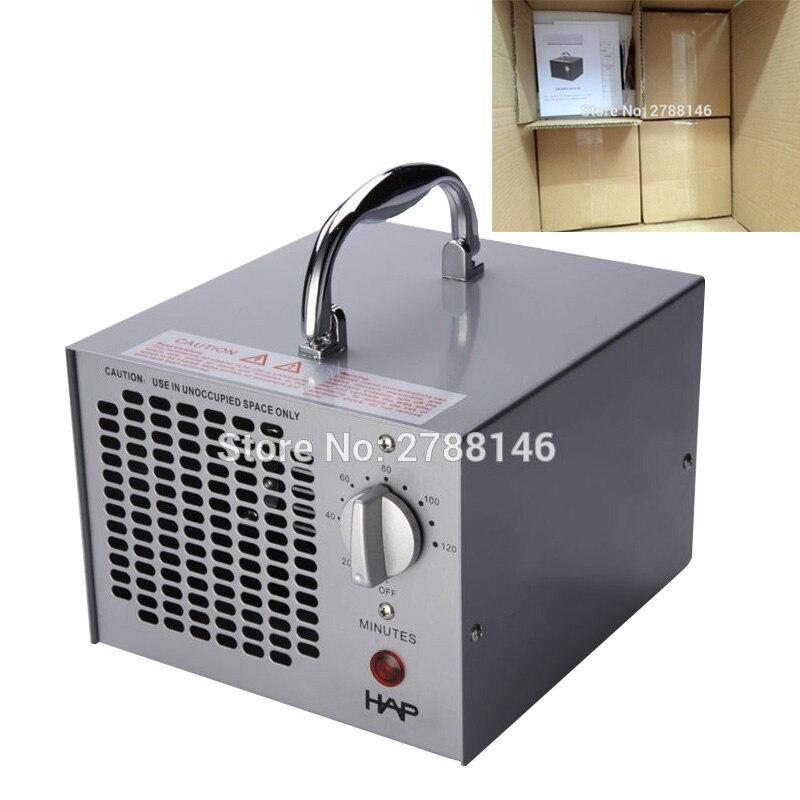 Generator ozon HIHAP 3.5G untuk pemurnian udara rumah dan komersial (4 pcs)