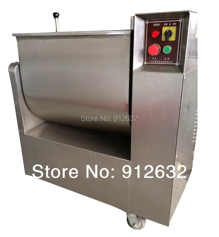 304 high grade stainless steel commercial horizontal stuffing meat mixer mainland - Meat Mixer