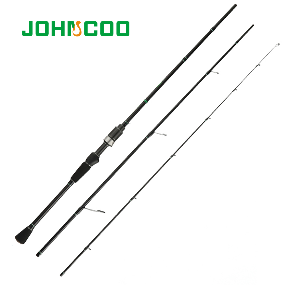 Canne à pêche rotative Action rapide UL tige de coulée pour la pêche à la truite de gigue légère 0.6-6g produits de canne à carbone pour la pêche JOHNCOO