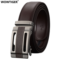 REGITWOW Fashion Automatic Buckle Men Leather Tactical Jeans Luxury Belt High Quality Alloy Buckle Brand Belts