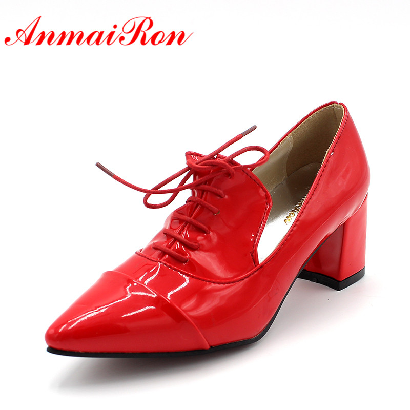England Womens Patent Leather Shoes
