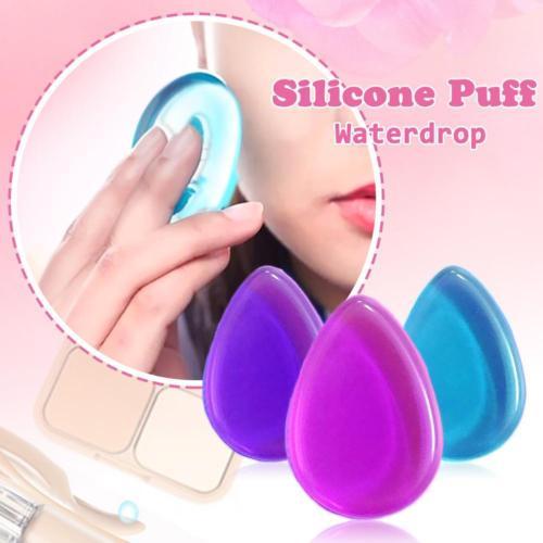 Silisponge New Tool Gel Beauty Make Up Bob Foundation Puff Silicone Sponge Soft Application Cosmetics