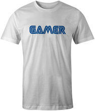 Gamer Gaming Sega Logo Style Retro 80s 90s T-Shirt Printed T Shirt Men Cotton T Shirt New Style Original Tops Novelty