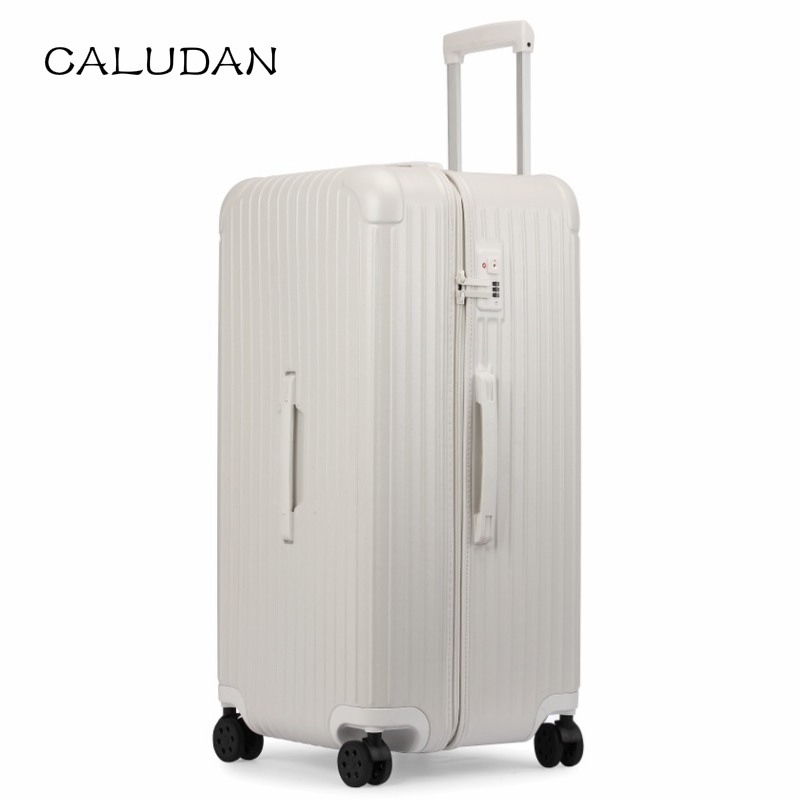 Suitcase Rolling-Luggage Ultra-Light Famous-Brand CALUDAN Male 32--30-Large Pull-Rod-Box