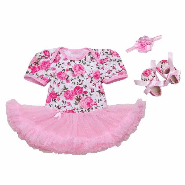 Newborn baby girls dress juegos de ropa para la fiesta de cumpleaños ...