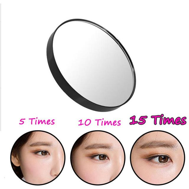 15x Magnifying Mirror 3 5 Suction Cup For Women Beauty Makeup Cosmetic Shower Home Magnification Gl