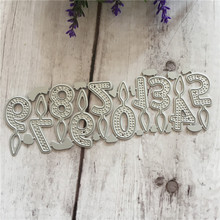 Happy Birthday candle Fire Number 0 ~ 9 die cutting clear stamp 2018 New die cutting for DIY Scrapbooking Decorative dies