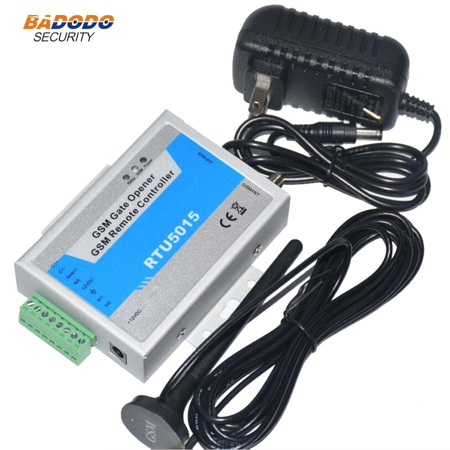 Badodo GSM Gate Opener GSM Remote Switch RTU5015 Garage Swing Sliding Gate Opener Remote Control Switch Access Door Opener
