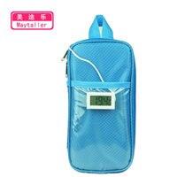 Insulin Special Cooler Storage Bag Portable Refrigerator Drug Freezer Pacote Especial Insulin Bolsa Termica With Two