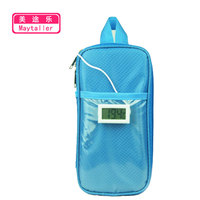 2019 Super Large Size Portable Insulated Insulin Cooler Bag Diabetic Insulin Travel Case Cooler Box with Two Big Ice Gel Packs