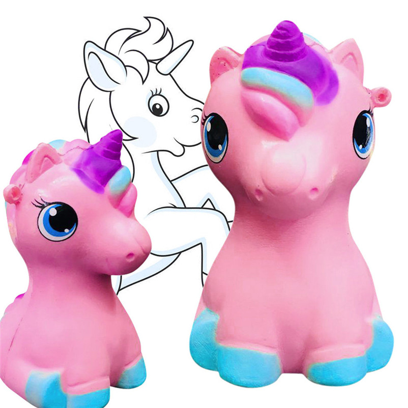 Unicorn Cream Scented Decompression Compression Viscous Viscous Toys Slow Rising Antistress Fun Funny Gadgets Interesting Toy P5