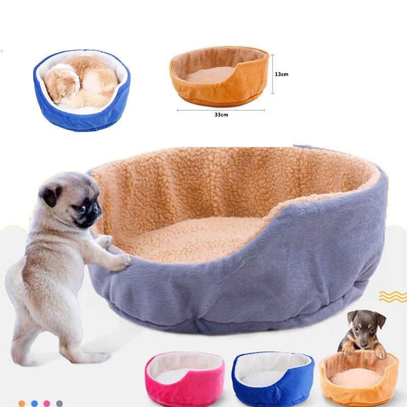 Новый милый питомец кошка дом кровать маленькая собака Кровати чашка щенок Тедди котенок корзина сиденья Guinea Pig кролик Теплый Pet гнездо Номи...