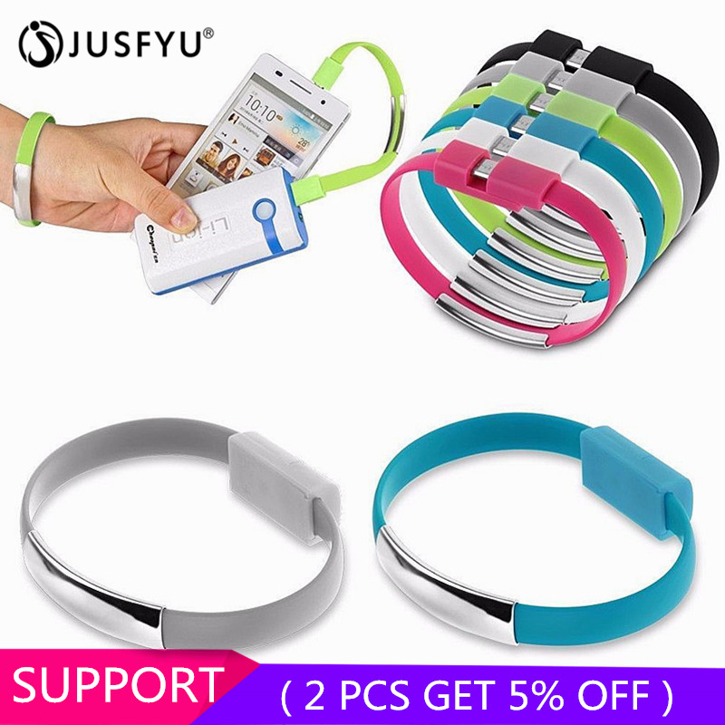 Bracelet Charger Phone-Cable Micro-Usb Colorful Mini Android Type-C For X XS XR Sync-Cord