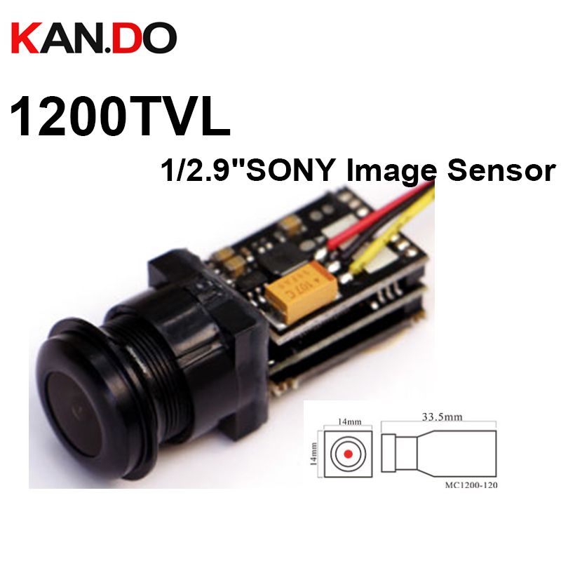 "MC1200-170 1200TVL mini cctv camera 1/2.9""SONY Sensor 1305*729 pixel anlogue camera cctv AGC auto white balance Auto D/N 3-5g"