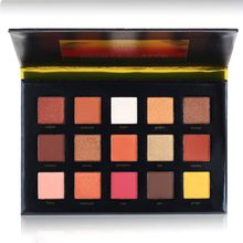 BEAUTY GLAZED 15 Colors Eye Shadow Palette Pressed Highlighter Face Powder Matte Eyeshadow  Cosmetics Sunsets