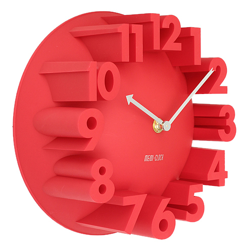 Best Home Decor Creative Modern Art Number Dome Round Wall Clocks Red 22 5 9cm In From Garden On Aliexpress Alibaba