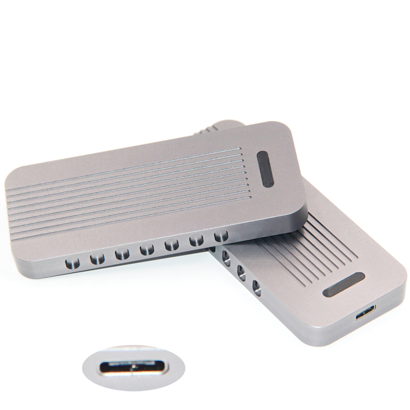 M key NVME PCI Express M.2 SSD HDD boîtier USB3.1 type-c à PCI-e 3.0 4x NGFF 2280 boîtier Mobile externe pour Intel 600 P PM951