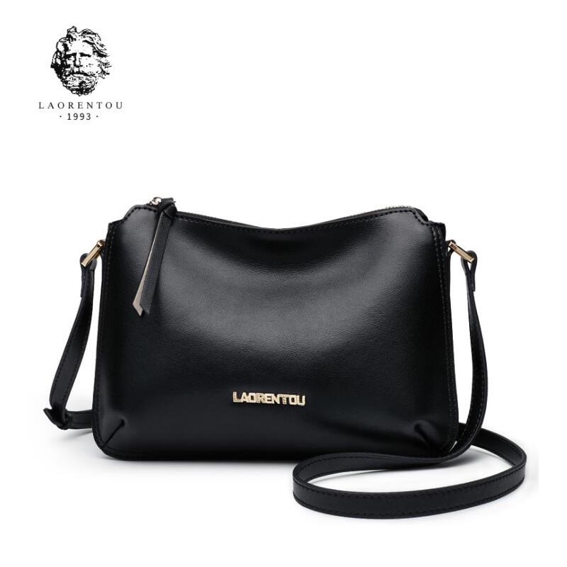 LAORENTOU 2018 New women leather luxury handbags women bags designer fashion leather Shoulder Crossbody bags women small bag new fashion women leather handbags 2017 luxury designer patchwork shoulder bags small crossbody bag with chain for women girls