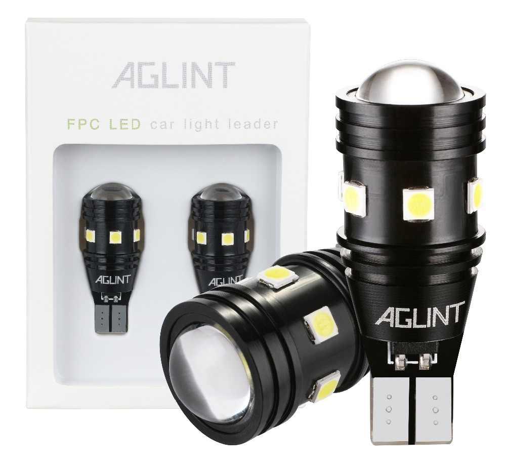 AGLINT 2PCS T15 T16 W16W 912 921 CANBUS Error Free LED Bulbs