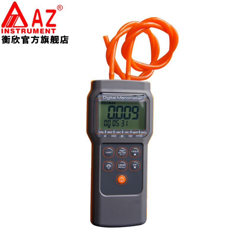 AZ82152 Digital Manometer High Performance Pocket Size 15 Psi Economic Pressure Gauge Differential Pressure Meter Tester (3)