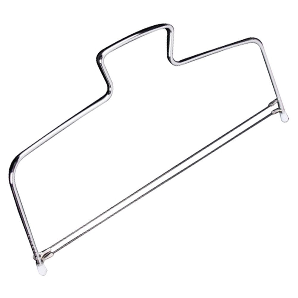 Adjustable Cake Leveler Stainless Steel Double Wire Slicer