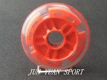 Haute qualité! 4 pièces/lot 90mm LED Flash roue de course de vitesse en ligne pour le brossage de la rue lumière fraîche, livraison gratuite