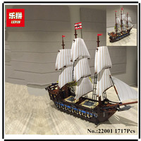 IN STOCK NEW LEPIN 22001 Pirate Ship Imperial Warships Model Building Kits Block Briks Toys Gift
