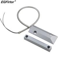 10Pairs Wire Garage Metal Door Alarm Magnetic Window Sensor Reed Switch Detector Sensor Roller Shutter Door N.C.