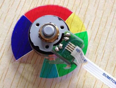 100% New  Original Projector Color Wheel for Benq MP615 Projector Color Wheel  6 Color motospeed f66 wired usb 1200dpi optical mouse black
