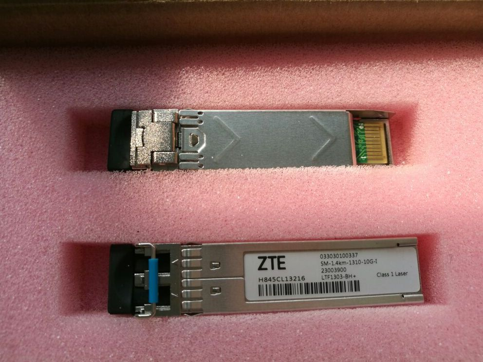 10G-1310nm-1.4KM-SM-SFP+  Single Mode Dual Fiber Module