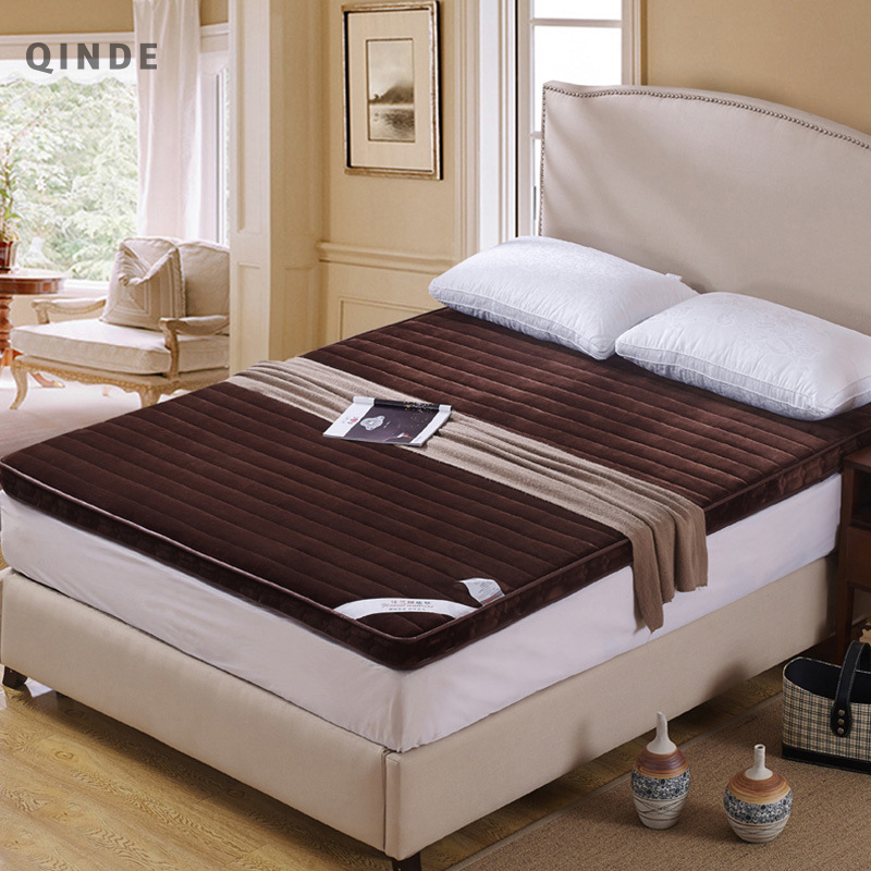 QINDE Hot Factory Wholesale Thick Mattress Single Double