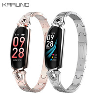 KARUNO AK16 Smart Watch Waterproof Womens Watch Fitness Watch Digital Watch Women Heart Rate Monitor For Android IOS Relojes