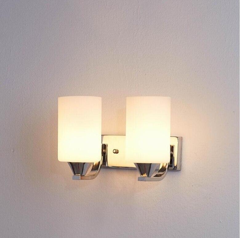 Conhecido New Modern vidro arandela luzes de Parede Parede de leitura cama  NX49