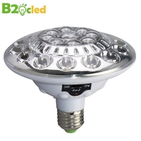Originality UFO Sound Sensor Lights 220V AC DC 22leds LED Bulbs Waterproof LED Lamps Intelligence Lights