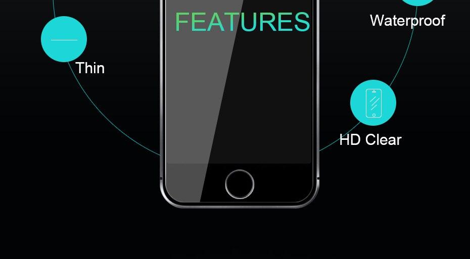 CHYI bez odcisków palców matowe szkło dla iphone 5s SE 5C ochraniacz ekranu oleofobowa powłoka 9 H dla iphone 7 8 plus xs Max XR szkło 8
