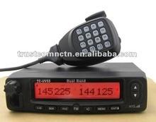 2017 HYS Black Walkie talkie Dual Band VHF UHF Mobile Vehicle Radio And Programming cable TC-UV55