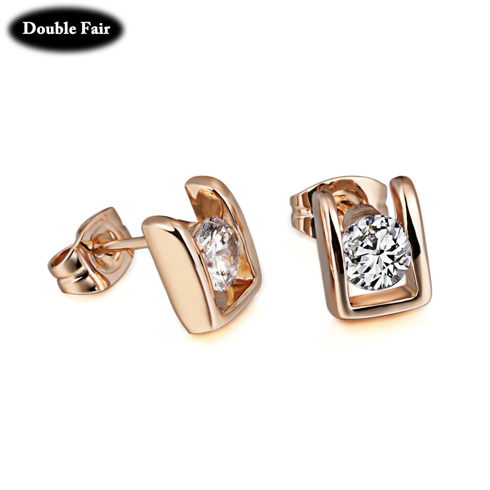 line Get Cheap Gold Studded Earrings Aliexpress