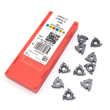 16ER AG55 11IR A55 16IR G55 IC908 55 angle Original Thread turning tools Tungsten Carbide Inserts Threading Lathe Tool